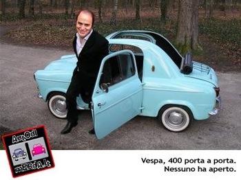 ベスパの4輪自動車 「VESPA400」 愛しのミニマシーンh.jpg