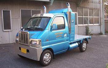 軽トラックで小さいながら、BIGアメリカンコンボイ 愛しのミニマシーン.jpg