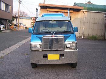 軽トラックで小さいながら、BIGアメリカンコンボイ 愛しのミニマシーンf.jpg